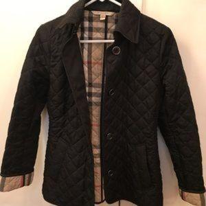 "Authentic ""Burberry Brit"" quilted coat"